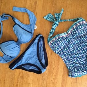 Swim suits by tommy bahama, size 4